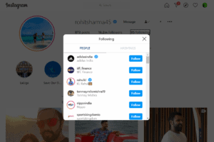 Rohit Sharma Unfollowed Virat Kohli on Instagram