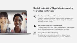 Skype Meet Calls in Windows 10