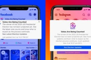 US Elections News Facebook and Instagram New Feature
