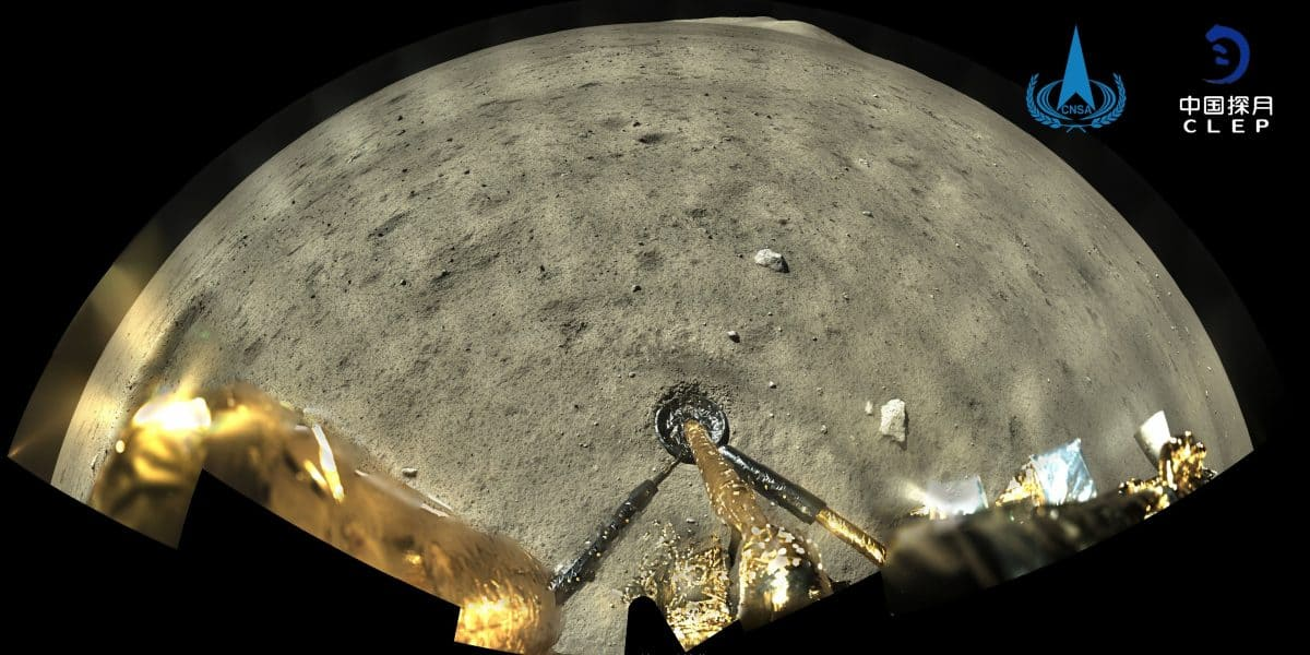 China just brought moon rocks back to Earth for its first time in history